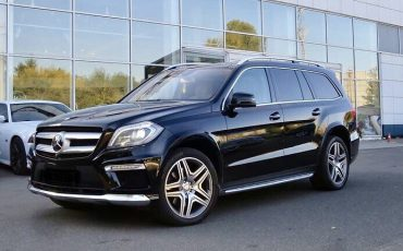 Mercedes-Benz GL Черный